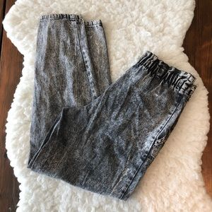 Vintage Cherokee Acid Wash Mom Jeans Size 4 Petite